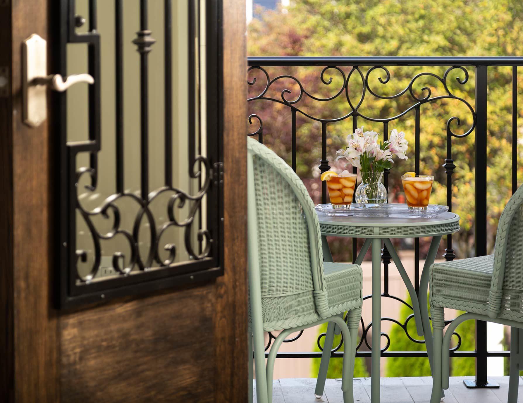 Wren Suite balcony