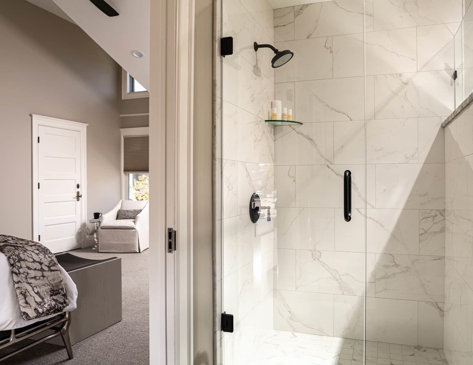 Wren Suite bathroom shower